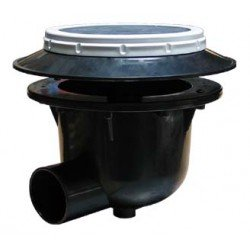 Koi toilet i aerated bottom drain 3 inch for Koi pond bottom drain setup