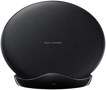 SAMSUNG Wireless Charger Stand Qi 15W Black Wireless Charging