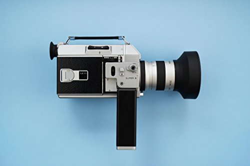 Super 8 Old Fashioned Movie Film Camera Photo Art Print Poster