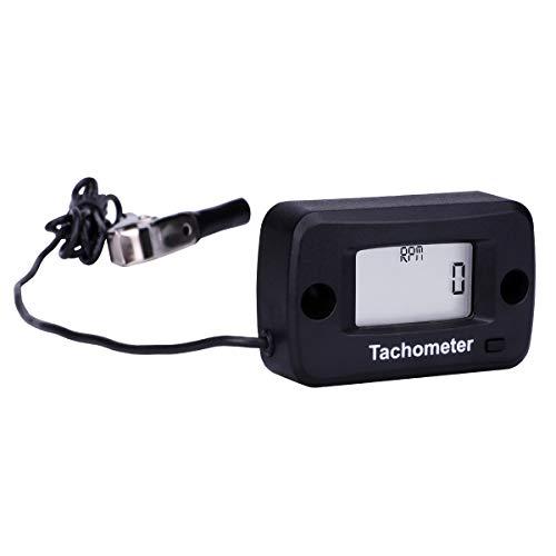 AIMILAR Digital Tachometer Tach Gauge for Gas Engine Chain Saw Cropper Generator Lawn Mower RV ATV Dirt Bike Motocross Boat Tractor