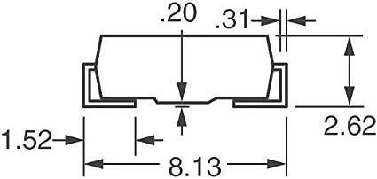 SMCJ24CA-13-F Pack of 10 TVS DIODE 24V 38.9V SMC