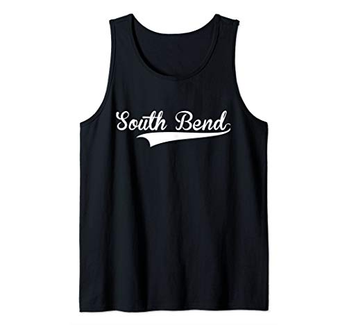 SOUTH BEND Baseball Softball Styled Tank - South Bend Baseball