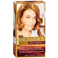 Permanent Layered-Tone Flattering Color, Light Soft Golden Brown