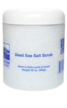 Body Scrub, 32 oz Almond Dry Salt Scrub, Dead Sea Spa Care
