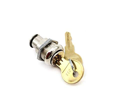 Detex Cover Lock Cylinder & Keys for EAX500 and ECL-230D Exit Alarm PP-5572