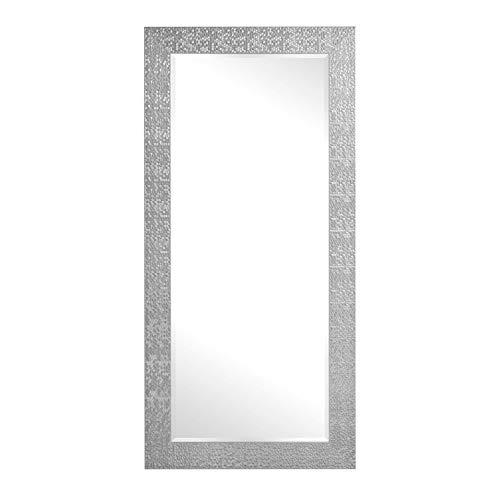 Naomi Home Mosaic Style Full Length Floor Mirror Silver/65.5 x 31.5