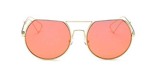 de cercle rond lunettes du Mercure métallique Lennon en inspirées Rouge polarisées soleil style vintage retro FwwqdUv