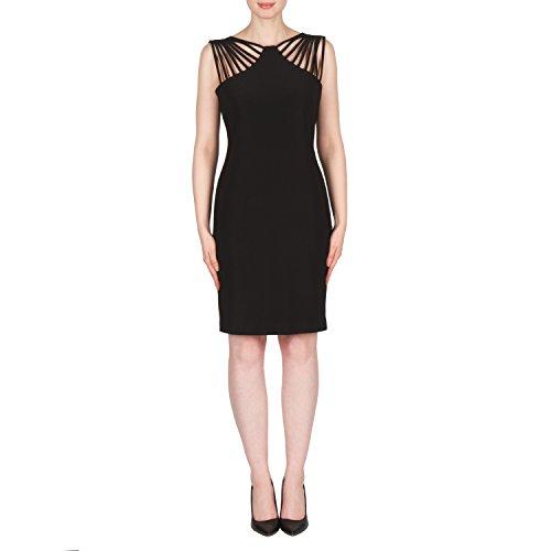 Joseph Ribkoff Damen Kleid Schwarz MLI8RA9yR2