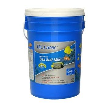 Oceanic 81050 Natural Sea Salt Mix, 200-Gallon Bucket