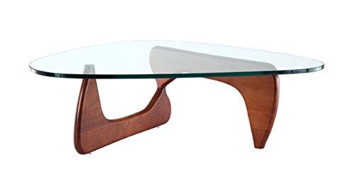 Kardiel 1956 Arch Mid-Century Modern Coffee Table, Ashwood/Cherry Stain