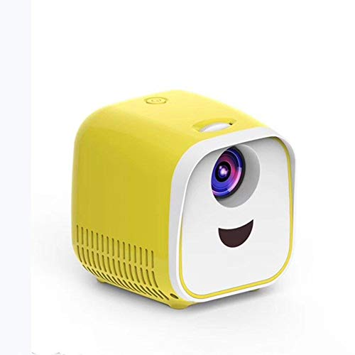 Mini Projector, Portable Pocket Projector with WiFi, 1080P Video Play, Home Theater Pico Projector for iPhone Android