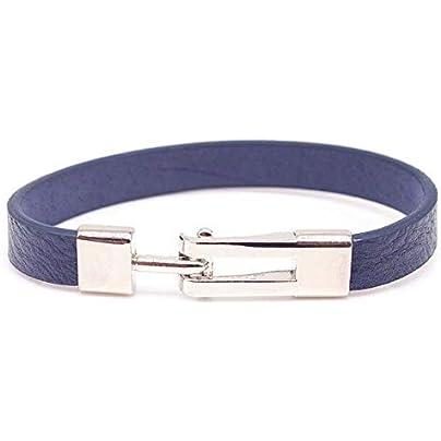 ZUOZUO Leather Wristband Leather Bracelet Simple And Easy Bracelet Bracelet Multicolor Optional Estimated Price £17.99 -
