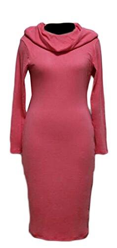 Womens Dress Fall Warm Winter Sleeve Long 1 Color Solid Jaycargogo Hooded F41pqxwq