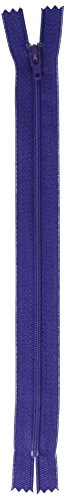 "UPC 073650833779, Coats Thread & Zippers F7209-314A All-Purpose Plastic Zipper, 9"", Deep Purple"