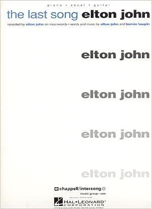 ELTON JOHN The Last Song Piano-Vocal Lyrics-Guitar Chords: Amazon ...