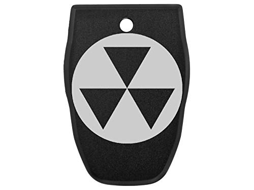 for Smith Wesson S&W SD40VE Magazine Base Plate .40 Cal NDZ Black Fallout Shelter Symbol 1 (Best Laser Pistol Fallout 4)