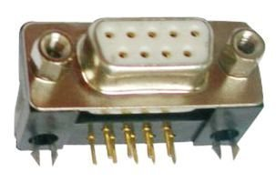 AMPHENOL COMMERCIAL PRODUCTS 6E17C009SAJ120 D SUB CONNECTOR RCPT 50 pieces STANDARD 9POS