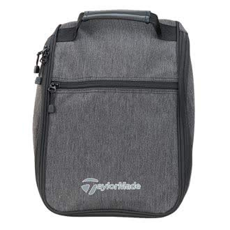 TaylorMade Golf 2018 Mens Classic Shoe Bag/Tote Bag Grey/Black by TaylorMade