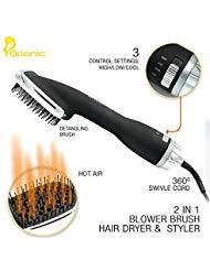 One-Step Hair Dryer & Styler Brionic Tourmaline/Ceramic/Ioni