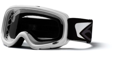 Smith Optics Gambler MX Goggle (Youth Ages 6+, White), Outdoor Stuffs