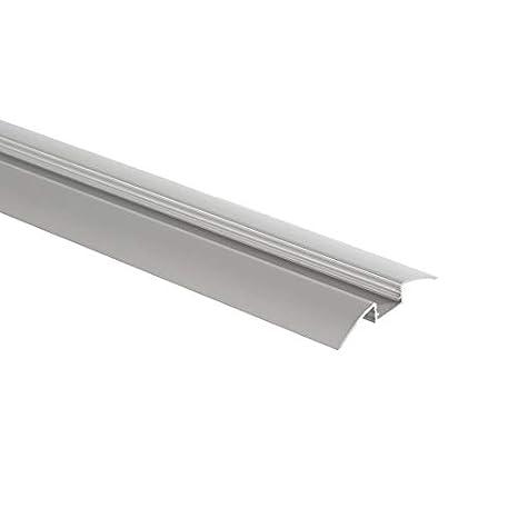 Perfil de Aluminio 1m para Tira LED 12V P7 Transparente efectoLED: Amazon.es: Iluminación