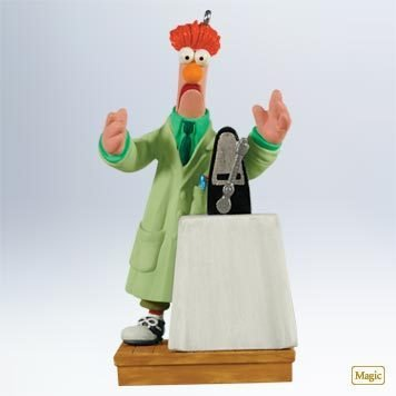 Beaker's Ode to Joy 2011 Hallmark Magic Ornament The Muppets (Beaker From Muppets)