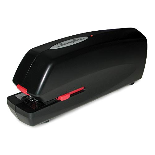 Swingline Portable Electric Stapler, Full Strip, 20 Sheet Capacity, Black (48200) ()