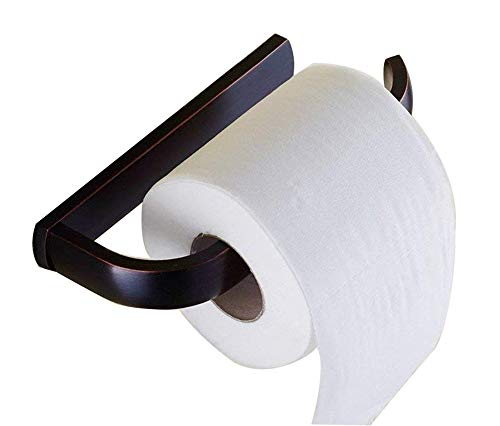 ELLO&ALLO Oil Rubbed Bronze Toilet Paper Holder Bathroom Accessories Wall-Mounted, Rust Protection