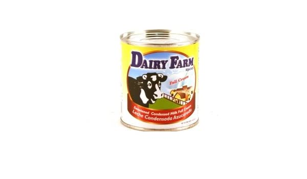 Amazon.com : dairy farm sweetened condensed milk full cream (leche condensada azucarada) - 14oz [12 units] (838452002217) : Grocery & Gourmet Food