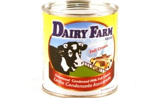 dairy farm sweetened condensed milk full cream (leche condensada azucarada) - 14oz [12