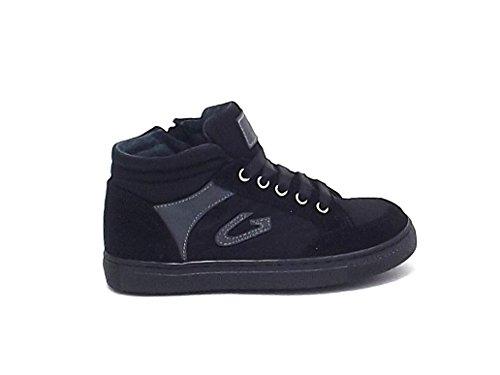Alberto Guardiani , Jungen Sneaker Mehrfarbig nero grigio