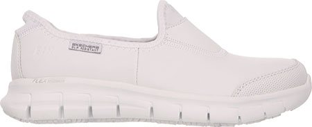 Skechers Work Relaxed White US 5 M Sure Women's Fit 8 Track wZAPq