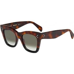 Celine Sunglasses CL 41090/S Sunglasses 0QLT/Z3 Havana Blue 50mm