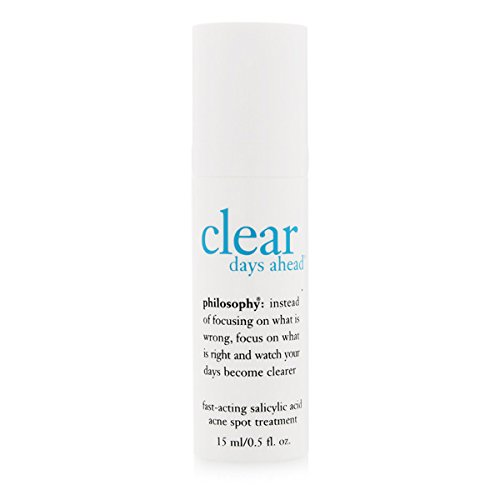 Philosophy Clear Days Ahead Fast Acting Acne Spot Treatment 15ml/0.5oz