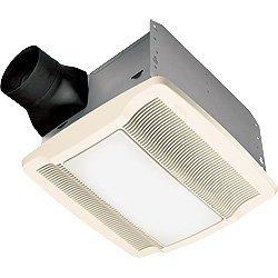Broan QTREN080FLT Ultra Silent Ventilation Fan w/ Light & Night-Light, 4