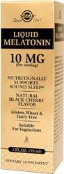 Solgar - La mélatonine liquide, 10 mg, 2 fl oz liquide. sommeil-