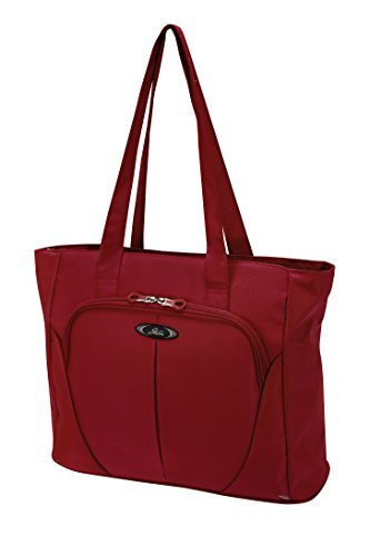 Skyway Mirage Superlight 18-Inch Shopper Tote, Formula 1 Red, One - Tote Piggyback