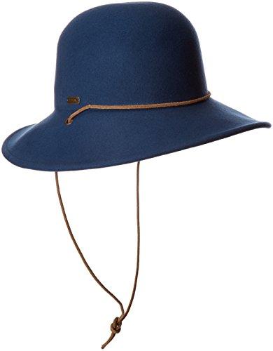 Coal Women's The Waverly Wool Felt Hat, Blue, M by Coal