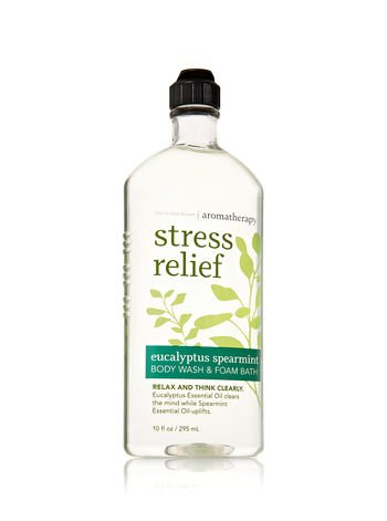 Bath & Body Works Aromatherapy Eucalyptus Spearmint Stress Relief Body Wash & Foam Bath 10fl oz