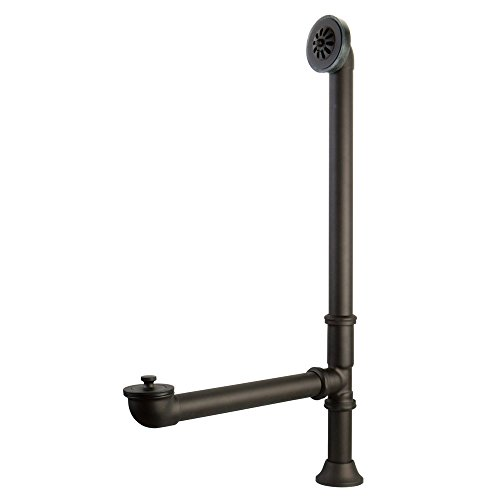 - Kingston Brass CC2085 Vintage For Clawfoot Tub and Exposed drain Application, Oil Rubbed Bronze