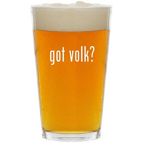 - got volk? - Glass 16oz Beer Pint