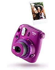 Fujifilm Instax Mini 9 camera, Camera met 10 opnamen, Helder Paars