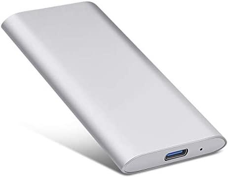 Neeta Disco Duro Externo Port/átil 1TB Mac Xbox 360 1TB, Plata Apple Type C USB3.1 SATA HDD Almacenamiento para PC Windows