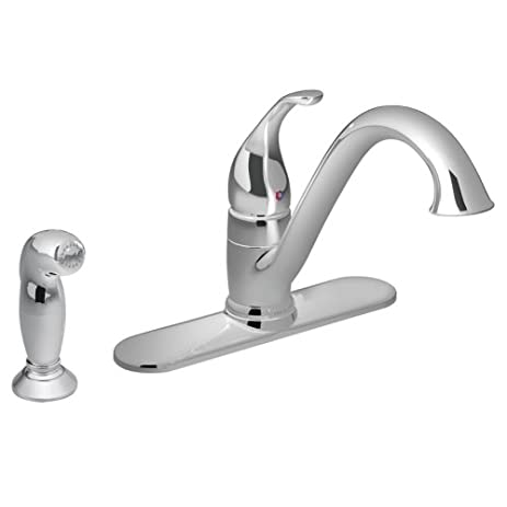 ... Single Handle Kitchen Faucet 7430 Moen. Moen Aberdeen Kitchen ... On  Bathtub Faucet ...