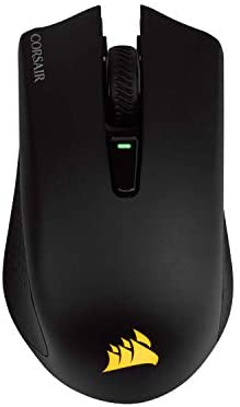 Corsair Harpoon RGB Wireless - Wireless Rechargeable Gaming Mouse with SLIPSTREAM Technology - 10,000 DPI Optical Sensor