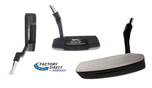 Men's Right Hand Tall Length (36 Inch) Slazenger Offset Hosel (Ping Style) Putter: CNC Milled Face w/Insert; Right Hand + Cover (Alignment Putter)