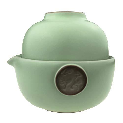 AliArchery Portable Handmade Ceramic Set Teapot product image