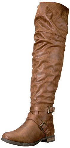 Carlos by Carlos Santana Women's NINA Fashion Boot, Taupe, 10 Medium US