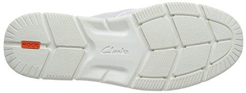 Clarks Orson Lite Herren Sneakers Weiß (White)