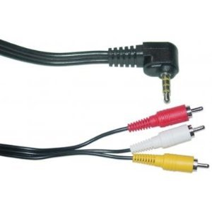 12FT 3.5 mm to 3 RCA AV Camcorder Video Cable